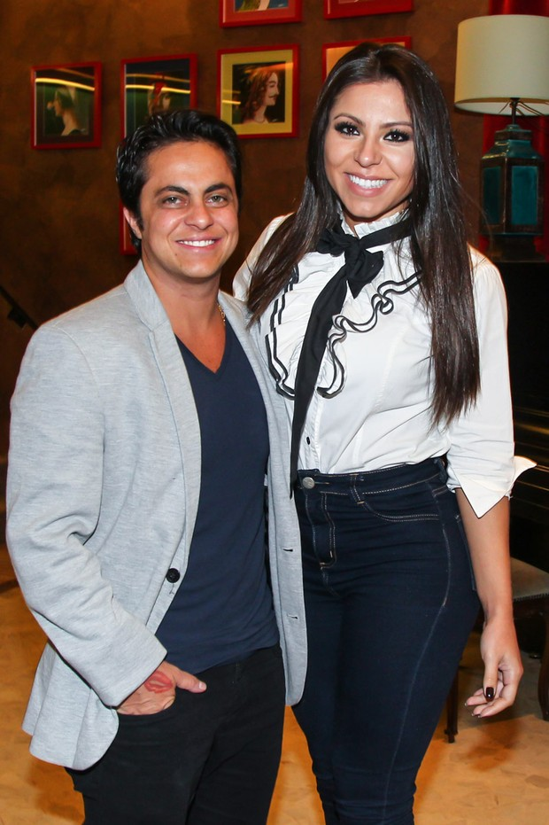 Thammy e Andressa (Foto: Manuela Scarpa/PhotoRio News)