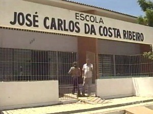 Escola ficou sem aula desde a sexta-feira (24) (Foto: TV Diário/Reprodução)