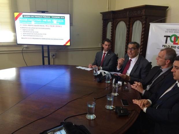 governo, parcelamento, rs, porto alegre (Foto: Jonas Campos/RBS TV)