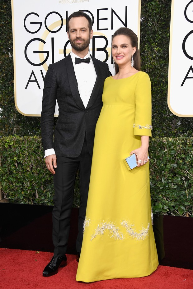 Natalie Portman e Benjamin Millepied (Foto: Getty/Frazer Harrison)