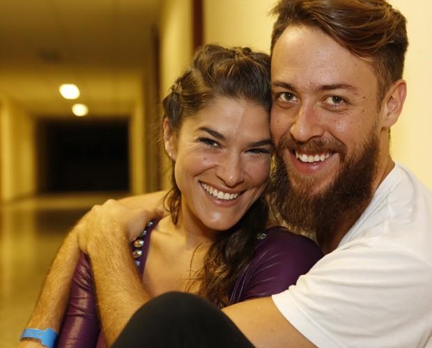 Prscila Fantin e Renan revelam desejo de ter outro filho (Foto: Ellen Soares / Gshow)