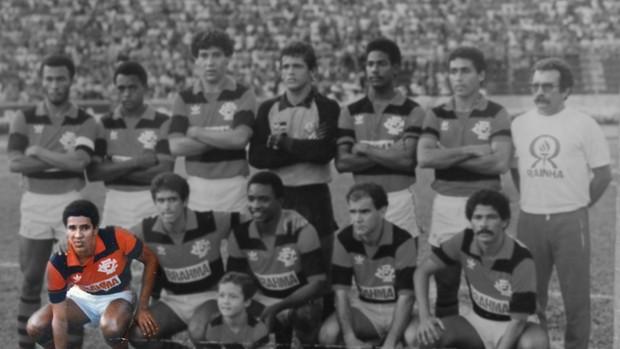 No Vitória, Heyder foi considerado o melhor ponta de Salvador (Foto: Arquivo pessoal)