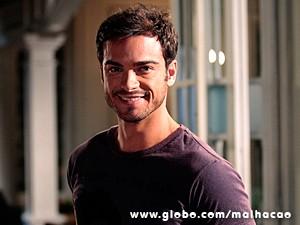 Sidney Sampaio adorou voltar a Malhação (Foto: Malhação / TV Globo)