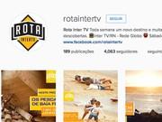 Instagram Rota Inter TV (Foto: Divulgação)