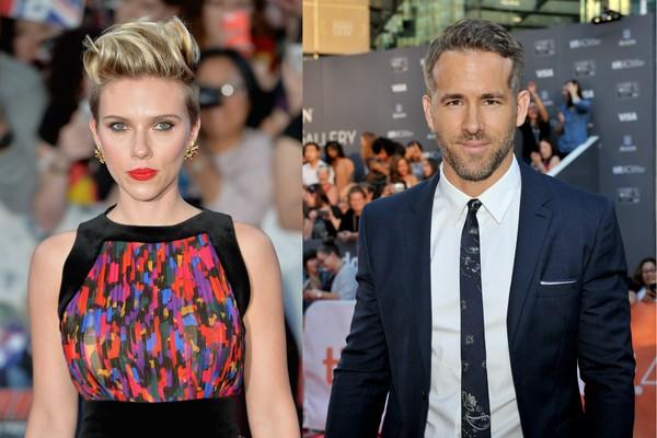 Scarlett Johanson e Ryan Reynolds foram casados por três anos (Foto: Getty Images)