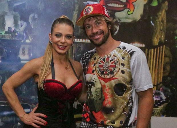Sheila Mello e Diego Lugano (Foto: Divulgação)