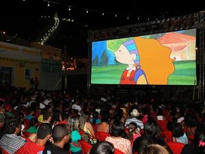 Filmes serão exibidos ao ar livre (Foto: Helder Ferrer/Divulgação)