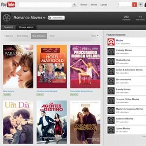O YouTube também começou a oferecer no Brasil a compra e aluguel de filmes (Foto: Reprodução)