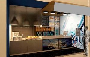 Grêmio lança rede de fast food (Foto: Divulgação/Grêmio)