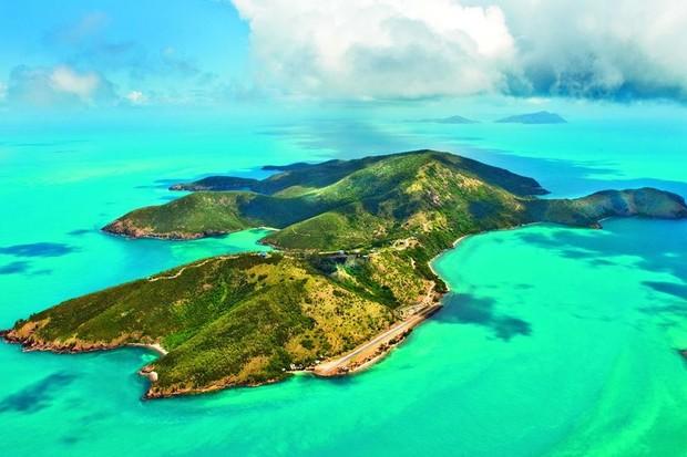 Ilha à venda na Grande Barreira de Coral (Foto: Divulgação)