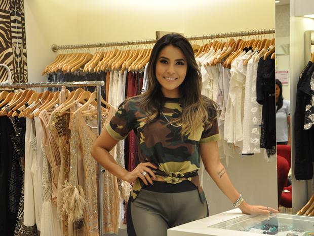 84525fa2a Bruna Monteiro tem lojas de roupas femininas em Cuiabá e em Várzea Grande  (Foto