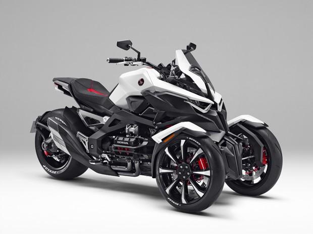 dcb0a01dbac G1 - Honda revela triciclo híbrido que  faz curvas como moto ...