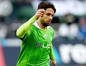 Diego jogo Wolfsburg contra Moenchengladbach (Foto: AFP)