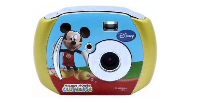Câmera infantil tinha design divertido para crianças (Foto: Divulgação/Disney)
