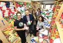 'Damas' arrecadam 25,5 toneladas de alimentos