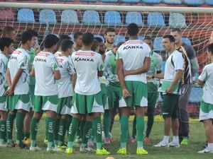 Luverdense, treino, Rio de Janeiro (Foto: Fabio Lima/Luverdense EC)