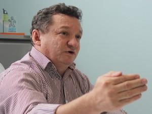 Gilberto Albuquerque, diretor do Hospital de Urgência de Teresina (HUT) (Foto: Fernando Brito/G1)