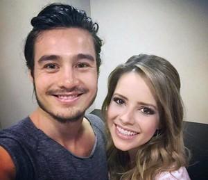 """Sandy e Tiago Iorc compuseram a letra """"Me Espera"""" juntos (Foto: Arquivo Pessoal)"""