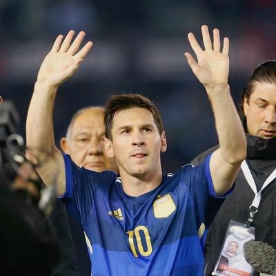 Lionel Messi, Argentina x Trinidad Tobago (Foto: Agência AP)