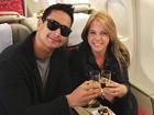 Depois de gravação de DVD, Xanddy viaja com Carla Perez: 'É relaxar'