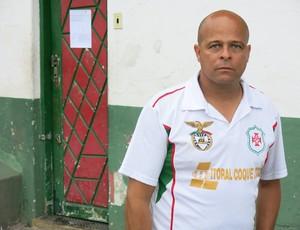 Darlan Santana Júnior, treinador do sub-20 da Briosa (Foto: Antonio Marcos)