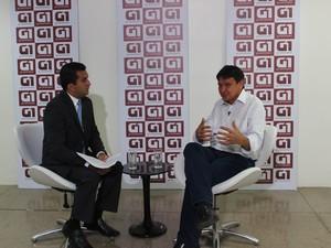 G1 entrevista nesta segunda (25) o candidato Wellington Dias (Foto: Gilcilene Araújo)