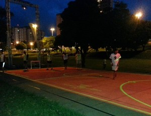 Quadra virtual Parque do Povo Presidente Prudente (Foto: João Paulo Tilio / Globoesporte.com)