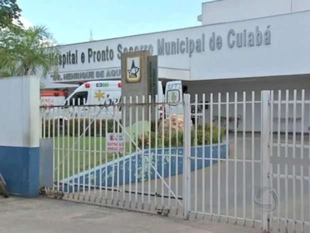 Pronto-Socorro de Cuiabá (Foto: Reprodução/TVCA)
