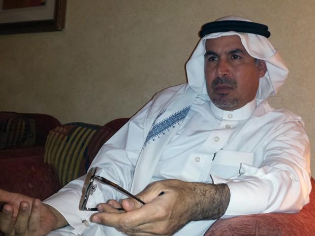 Mohammed al-Nimr, pai de Ali al-Nimr, durante entrevista à AFP em Riad, na quarta (23) (Foto: AFP Photo/STR)