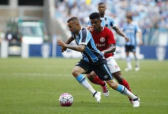 Luan Anselmo Grêmio Inter Gre-Nal (Foto  Lucas Uebel Divulgação Grêmio) 3b805655ac055