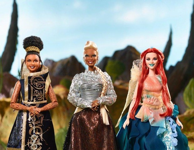 Novas Barbies lançadas pela Mattel (Foto: Disney/Mattel)