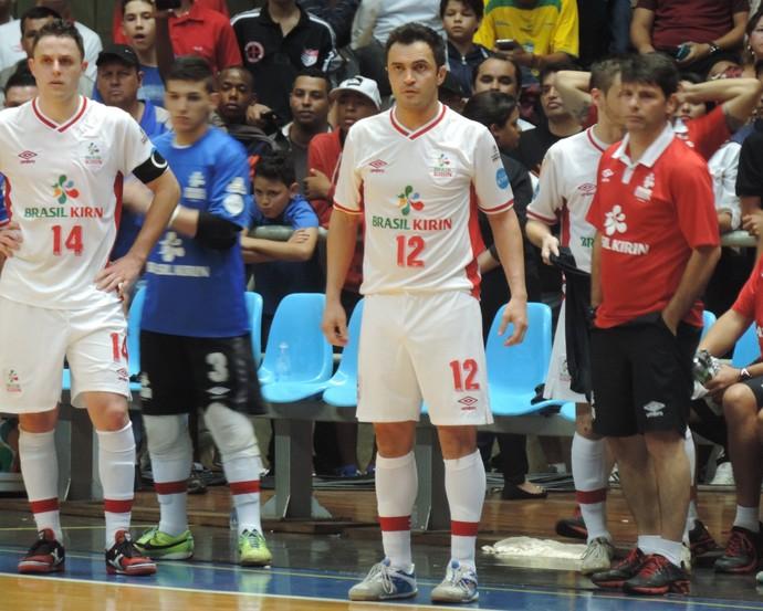 Falcão atuou boa parte da final diante de Orlândia (Foto: Emilio Botta)