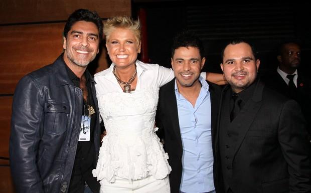 Junno, Xuxa e Zezé Di Camargo e Luciano (Foto: Thyago Andrade e Gabriela Andrade/Photorio News)