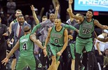Fora de casa Boston  Celtics bate o Cleveland  Cavaliers por 104 x 103 (Ken Blaze / USA Today / Reuters)