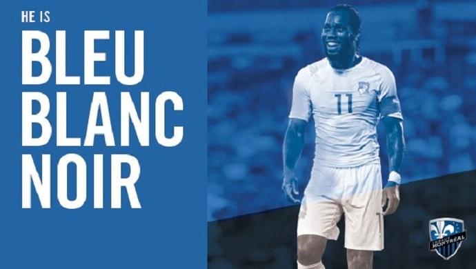 Didier Drogba Montreal Impact (Foto: Reprodução/Twitter)