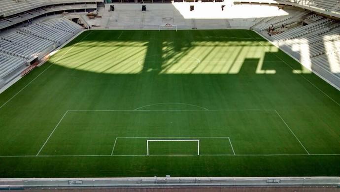 Arena da Baixada, estádio do Atlético-PR, com linhas (Foto:  André Vidolin)