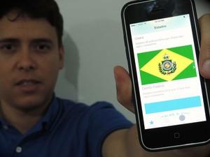 Professor da Universidade Católica de Brasília, Maurício Júnior criou os apps 'Candidatos' e 'Ficha Suja'. (Foto: Divulgação/Arquivo Pessoal)