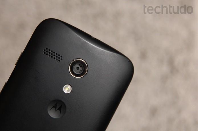 Câmera do Moto G não é seu ponto forte, mas ainda é melhor do que o Win para gravar vídeos (Foto: Luciana Maline/TechTudo)