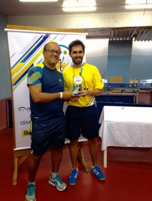Yezous Araújo conquista título Brasileiro de Tênis de Mesa  (Foto: divulgação/ASTM)