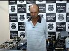Foragido da Justiça é preso suspeito de roubar fazendas em Goiás e MG