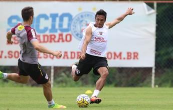 São Paulo tem 22 relacionados para jogo contra o Vitória; Robson na lista