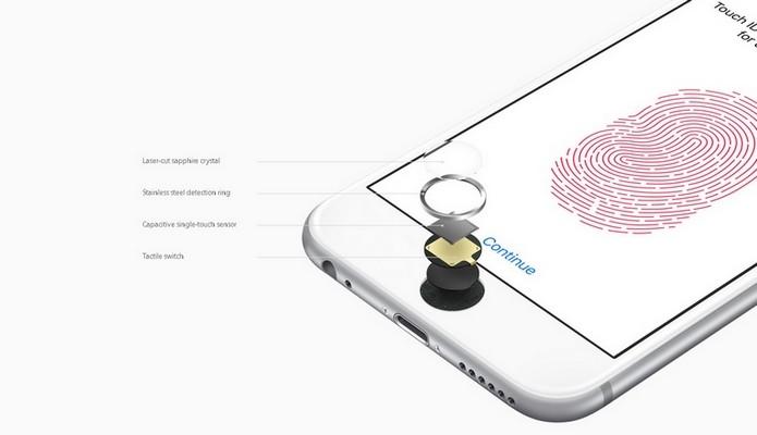 iPhone 6S e 6S Plus têm sensor de digitais aprimorado (Foto: Reprodução/Apple)