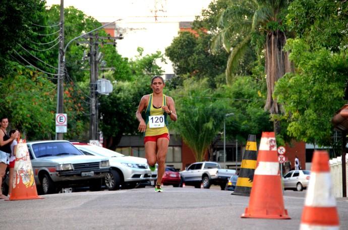 Maria Rosângela, corredora acreana (Foto: Nathacha Albuquerque)