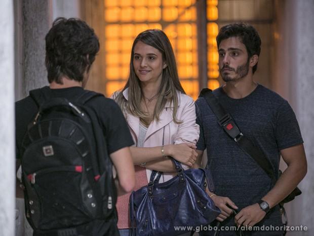 Rafa diz que Líder quer conversar com os novatos (Foto: Felipe Monteiro/TV Globo)