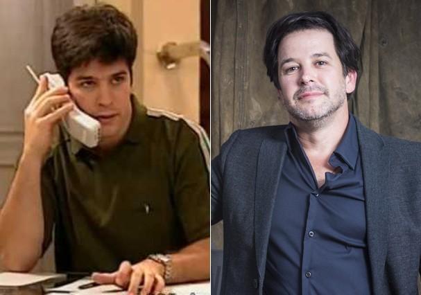 Murilo Benício como Léo (Foto: Reprodução e TV Globo)