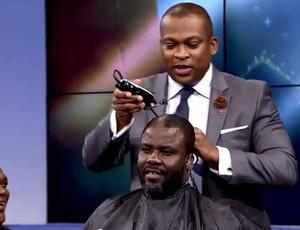 BLOG: Pagador de promessas: Kuffour tem cabelo raspado ao vivo após Gana perder