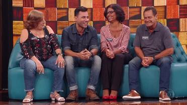 Rodrigo Sant'anna apresenta sua família