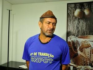 O retireiro de Luciara, Rubens Sales, diz que pedido foi feito para diminuir conflitos (Foto: Amanda Sampaio/G1 MT)