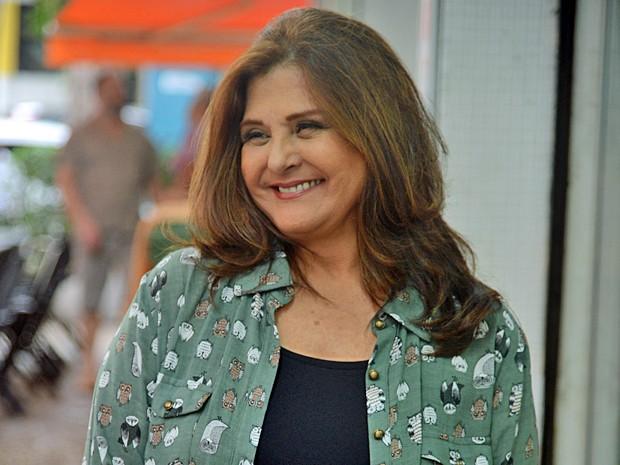 Elizângela conta que adora interpretar personagens do povo, como a Jurema (Foto: Raphael Dias / TV Globo)