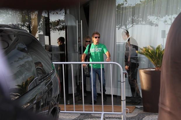 Jon Bon Jovi  (Foto:  Andre Freitas e Wallace Barbosa / AGNewws)